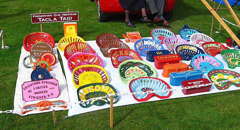 Colourful Tractor Seats