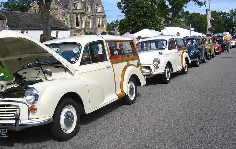 Morris Travelers All in a Row