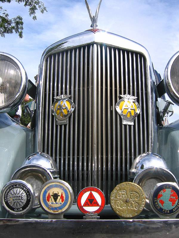 Alvis Grill and Badges