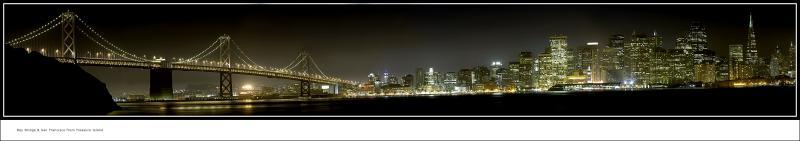 <font size = 1>Bay Bridge & San Francisco <br>from Treasure Island</font>