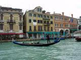 Gondola Near Rialto