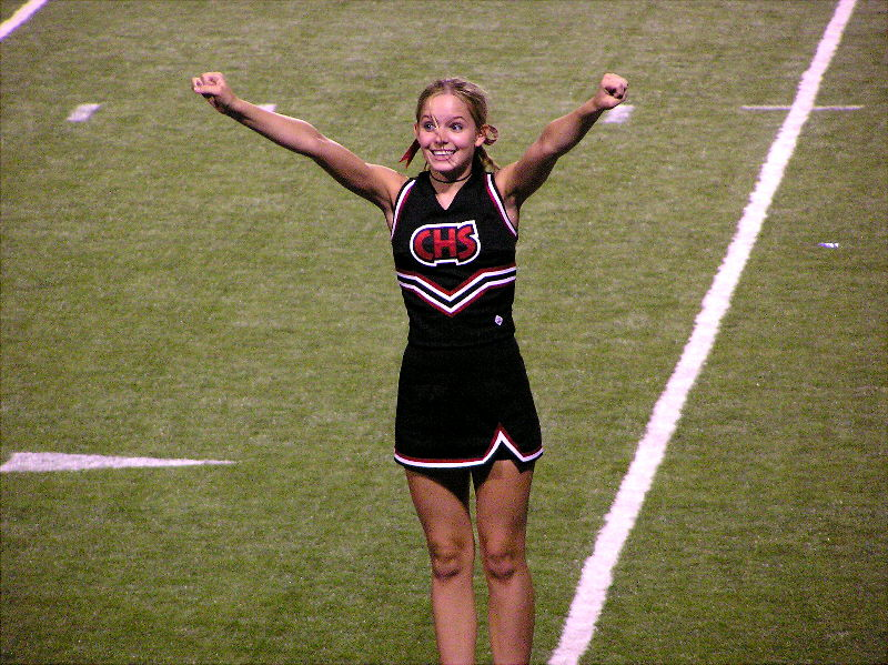Coppell Cheerleader