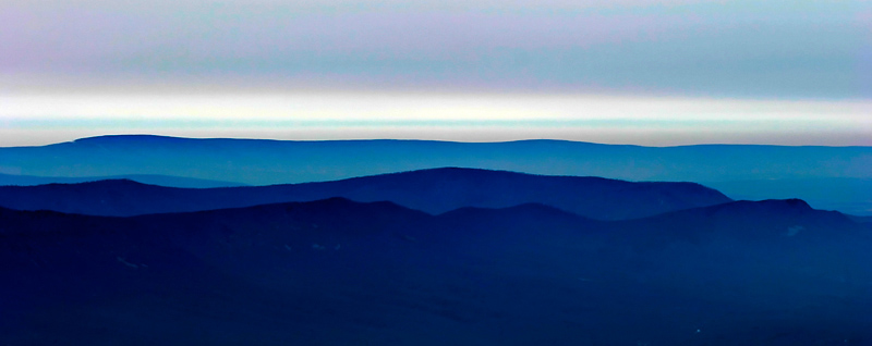 Blue Ridge Abstract *