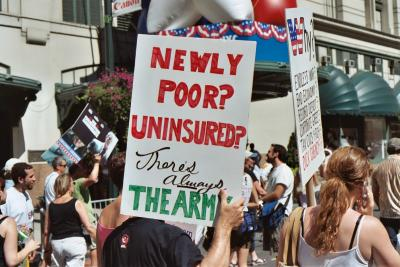 Newly Poor ? Uninsured?  Theres Always The Army.
