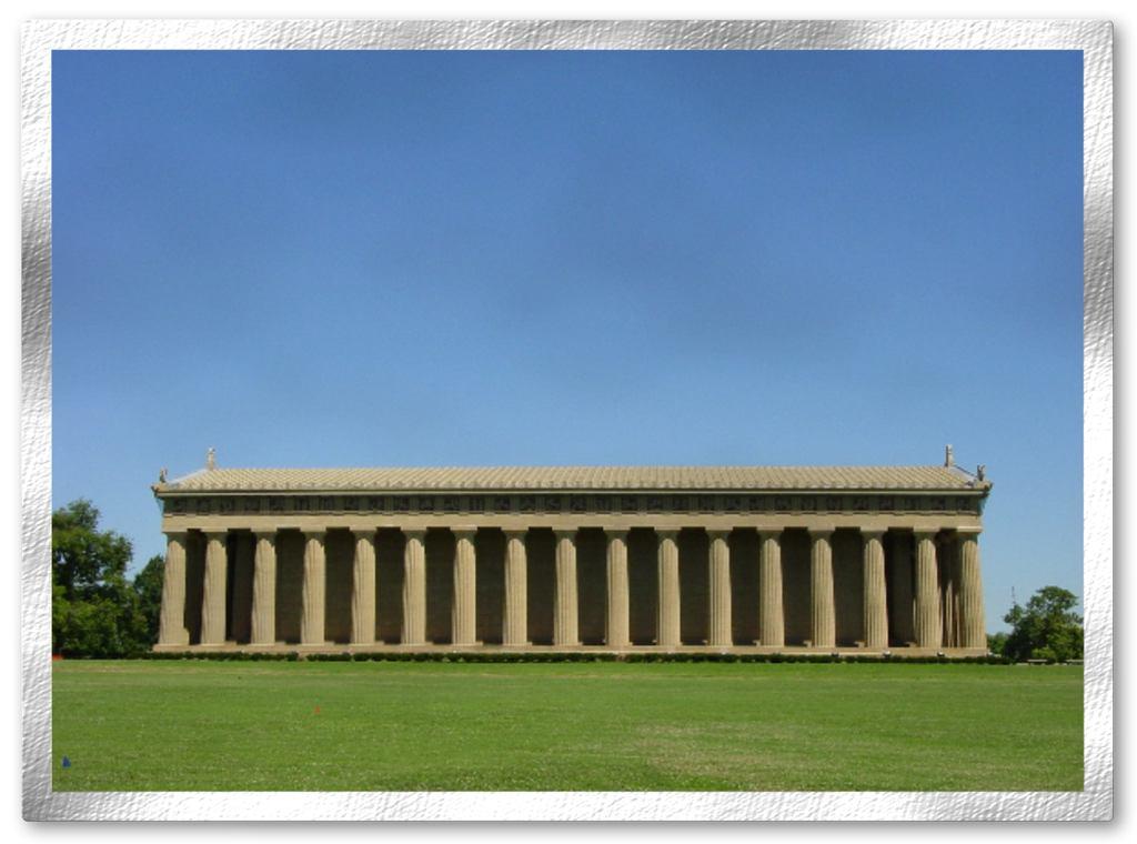 Parthenon Matted