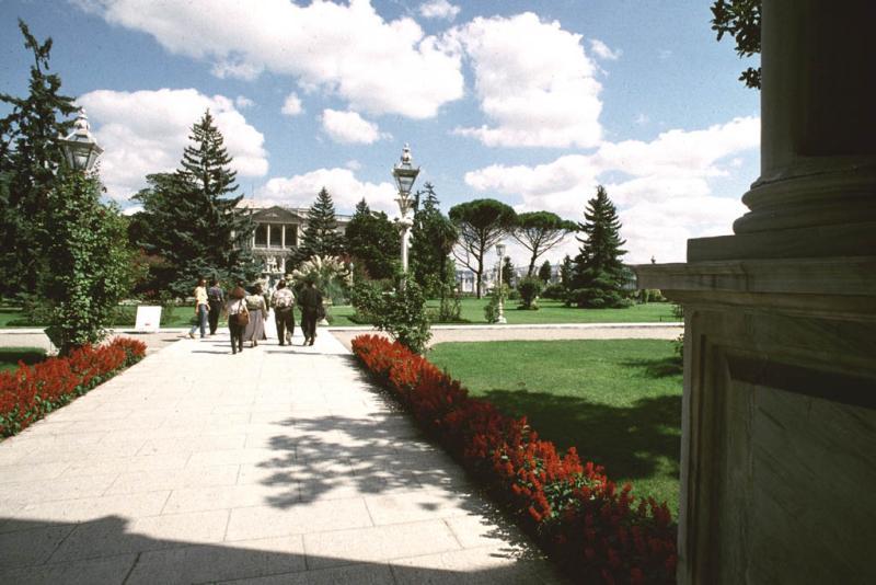 Entrance into park