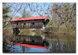 Waterloo Covered Bridge  -  No.13