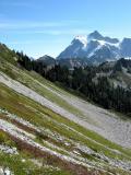 Mt. Shuksan above Chain Lakes Trail