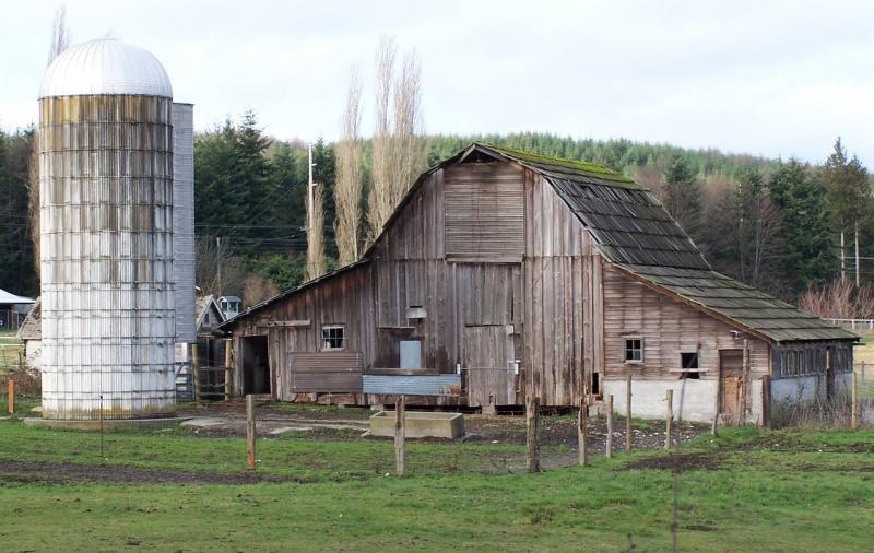 Old Barn in Poulsbo, WA.