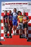Men Cat 4 Crit podium