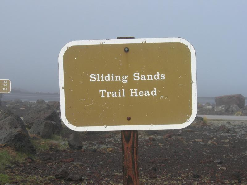 Sliding Sands Trail (9,778 ft.)