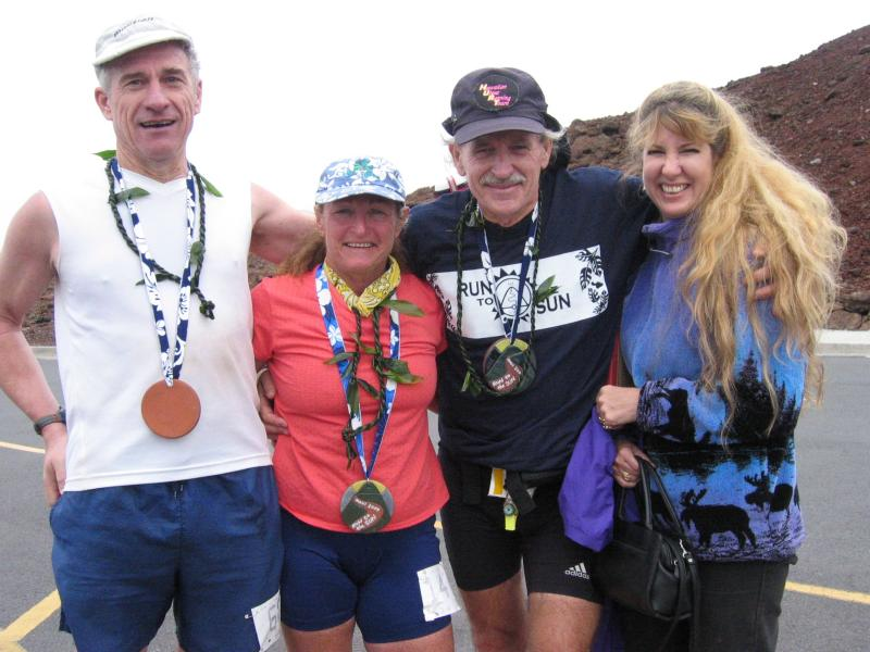Leon, Cheryl, Don & Heather