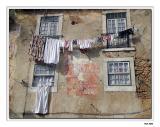 Washing day in Lissabon