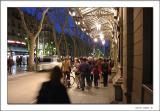 Nightlife at the Rambla - Barcelona