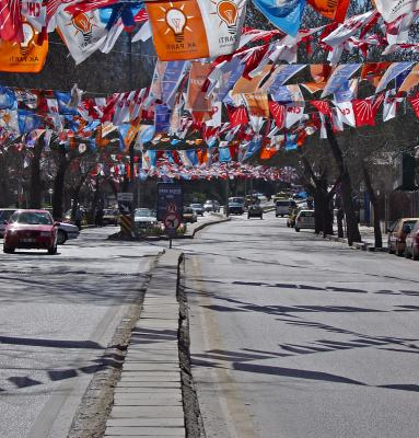 Election time in Ankara