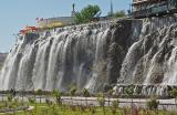Keçiören city waterfall