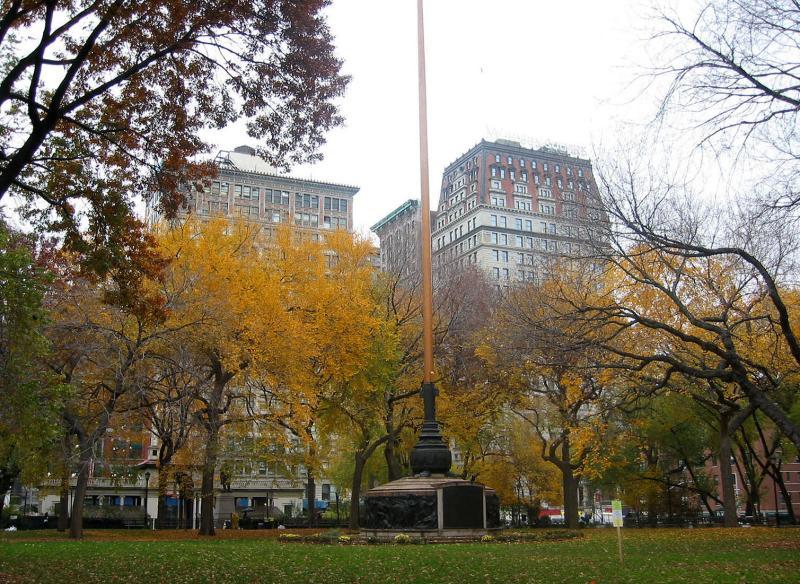 Union Square Flag Pole
