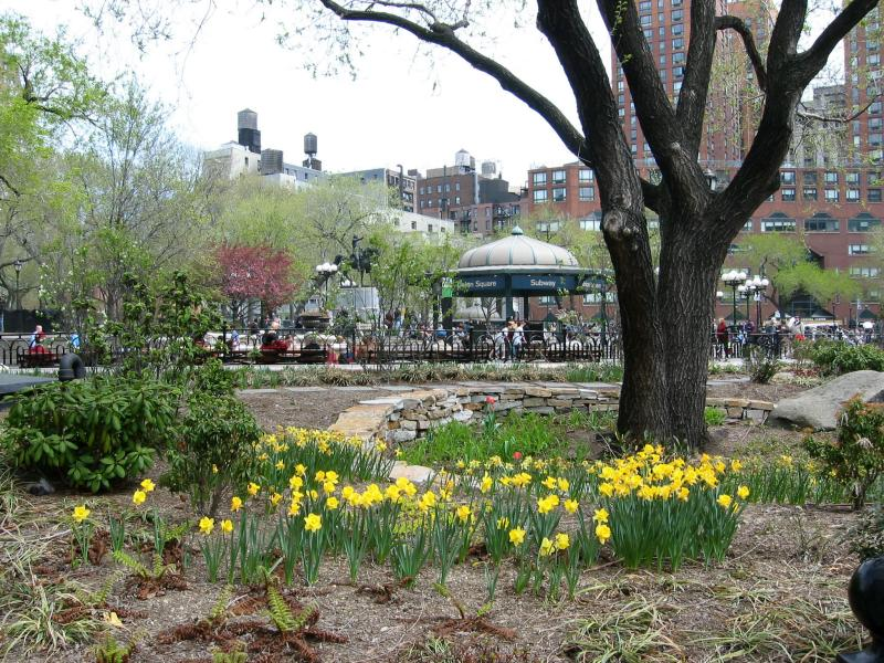 Spring Garden by Union Square Subway Station