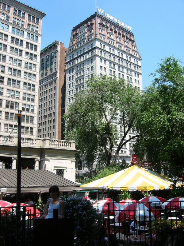 Farmers Green Market  Restaurant at Union Square