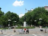 Union Square Park  on 14th Street