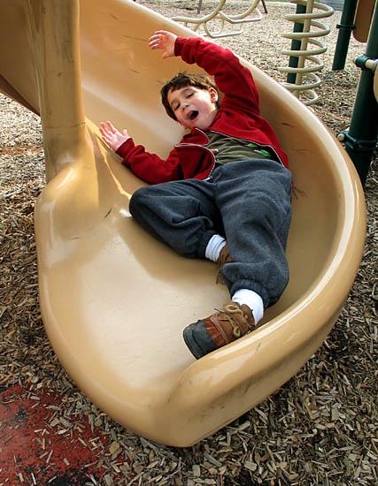 Julian on Slide