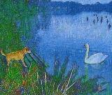 Dog & Swan