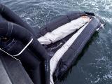 Slide inflating