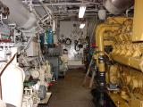 Main engine room