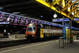 Winterthur Train Station: 11:06 p.m.