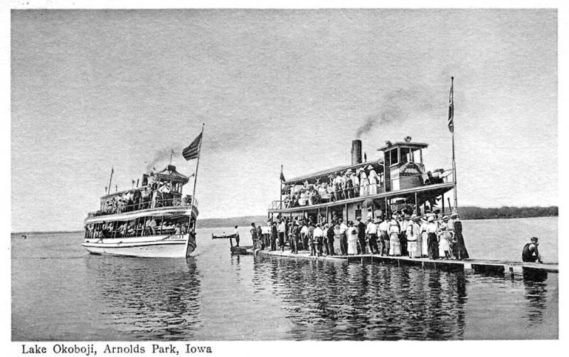 Boarding the Okoboji