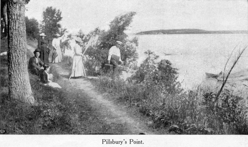 Pillsburys Point about 1911