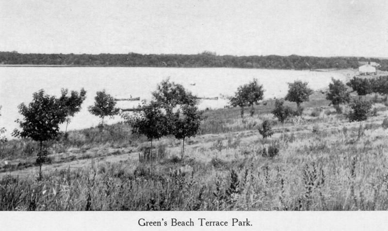 Greens Beach from the West 1911