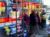 at the buses, antigua, guatemala