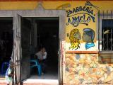 doings at the hair salon, jocotenango , guatemala
