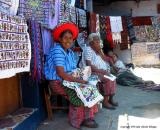 embroiderers shop, santiago atitlan, guatemala