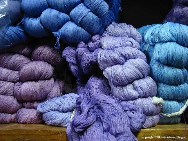 blue, santiago atitlan, guatemala