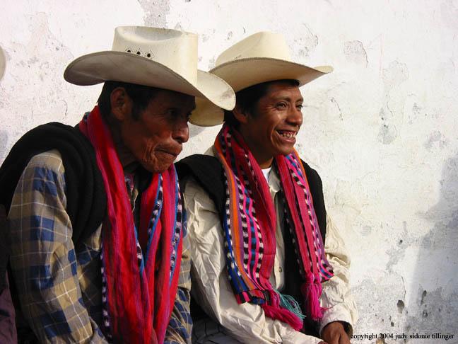two men, santiago atitlan