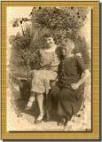 My grandmother and my great-grandmother - 1920 - circa