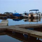Port Perry Marina at Dawn
