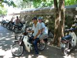 Transport to the tomb - motorbike taxi