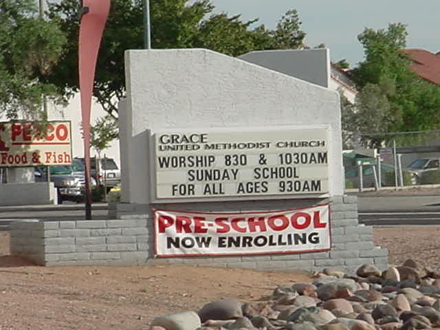 Grace United Methodist<br>Church Mesa Arizona