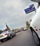 Coming to a stand still on a Dutch freeway