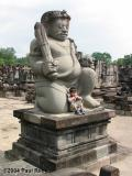 Jaya at Prambanan - May 2002