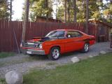 Ted Hlokoff's 73 Duster from Nimpo Lake, BC