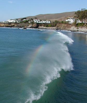 Mist rainbow