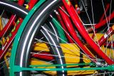 Coloured wheels
