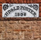 Porter sign in Rhyolite