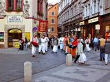 Hare Krishnas in Prague