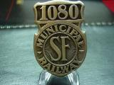 old cable car badge 1940's