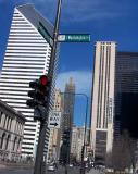 Michigan Avenue, Sunday morning